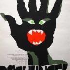 DSCHUNGER  Kunert Mark Graf Druck Munchen 1970 84x59
