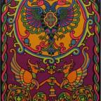 Eagle & Griffin by Orlando Mac beth 85,5x54 1969