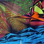 Euphoric phase 1969 by Ivan Paslavsky the third Eye inc 83x60