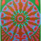 Flight Patterns 1967 East Totem west by Mc Hugh 89x58,5