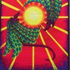 Guardian of the sun by gwen King 1972 85x56,5