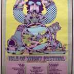 Isle of wight festival Dave Roe 1970  76x50,5