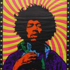 Jimi Hendrix 86x55,5