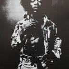 Jimy Hendrix by Donald Silverstein 76x50,6