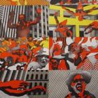 Musee D'art Moderne de la ville de Paris Cueco  Mourlot 75x49,5