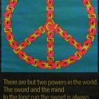 Paul Jablonka  Peace 1970 Third eye inc 82x54