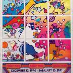 Peter Max Jacksonville art museum 1970 61,6x49,5