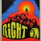 RIGHT ON 1970 Mad posters 86x59