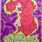 Taste me R.D Dempsey-B Bingham-wespac 1969 91,4X61