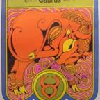 TaurusDavid Johnson 1969 Cube card  Usa 68,5x52