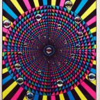 black light eyes 1976 MOnarch publications  88,7x58,5