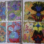 Absurdream cosmicomix Anthoine Duthoit signé, 2005,Lille, VG salissure derniere de couv, 29,7x21bis
