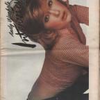 Andy Warhol's Interview Apr. '73 29x39