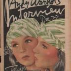 Andy Warhol's Interview Dec. '73 29x39