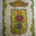 Antoine Duthoit, Absurdream cosmicom, petit livretsigné au crayon, lille 2005, M, 29,6x 21
