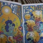 Antoine Duthoit, Absurdream cosmicom, petit livretsigné au crayon, lille 2005, M, 29,6x 21 int