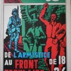 BD De l'armistice de 18 au front populaire de 36,  Les reveries du père victor, texte Lagrange et dessin JP demangel 1976 Epinal (Vosges) 30,5x22