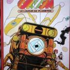 Bd Orion le laveur de planetes, Dargaud editeur, C Moliterni- R.Gigi 1974, France, vg abimé sur derniere de couverture partie inf + sur bord exterieur de la cote 32x24