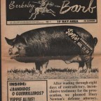 Berkeley Barb vol 7 no 7 issue 157 45x29