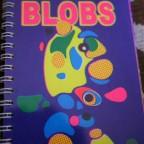 Blobs, dedicacé et signé. 14,5x 10,2 M