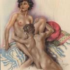 Dans la chambre Edouard Chimot 22x17