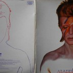 David Bowie – Aladdin Sane - Artwork By [Album Cover Designed By] - Duffy & Celia Philo