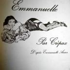 Emmanuelle Par Crepax D apres Emmanuelle Arsan, ed du Square, 1979, Paris, 31x24, VG abimé sur cote