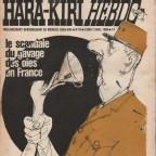 Hara-Kiri Hebdo N°10 29x45
