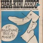 Hara-Kiri Hebdo N°13 29x45