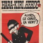 Hara-Kiri Hebdo N°14 29x45