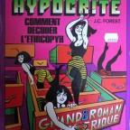 Hypocrite comment decoder l'etircopyh, JC Forest, ed Sargaud, Histoires fantastiques, 1973, 32x24,2 M