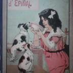 Images d epinal, Imagerie Pellerin, G, livre abimé pages jaunies et se detachant, 40x29