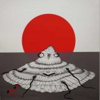 Japanese Shell n141 55,5x44,5 Labisse