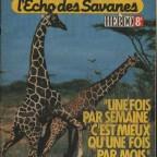 L'Echo des Savannes N°1 27x35