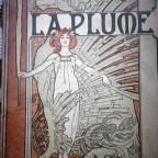 La plume – sept.1898 – Couverture litho par Mucha – N°226 – VG –b 25,8x18,6 – Editions Vaugirad