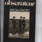 Le Nouvel Observateur HS Photo N°1 1977 29x44