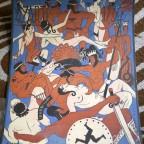 Les 4 arts 1936, J Labadie G dechirure partie inf 27x22,5
