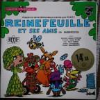 Livre Disque d apres serie tv produite par l ORTF, Reinefeuille et ses amis de Barberousse (dessins et texte)