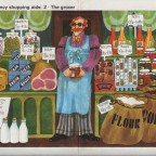 Malcolm english The Grocer  46x30,5 1970