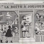 Monique Partridge une boutique de Jouets 46x30,5