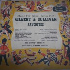 Music for school series n 5, Gilbert & sullivan favorites -