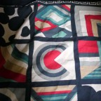 Noir avec carré Aker, G bouloche,120x120