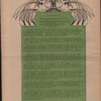 Oracle Vol.I N°7 - Verso 29x45