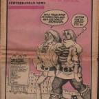 Rat Subterranean News June-July '69, 29x43