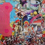 Rolling Stones – Their Satanic Majesties Request - Artwork By [Back Cover Illustration] - Tony Meeviwiffen  - Artwork By [Cover Photo Built By] - Artchie , Michael Cooper''