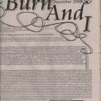 The Burn And I Vol.2 N°1 29x43