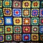 Tissu fleuri, vg, 41x52