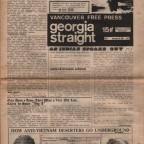 Vancouver Free Press Vol 1 Septembre 22 1967 no 6 recto