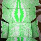 mobile monstre vert.M