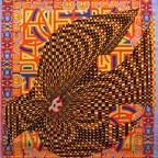 B-Dove of peace, Nancy Parker, Los Angeles 66.7x56,3